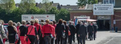 Sängerfest Heimattreu in Cloppenburg Mai 2014